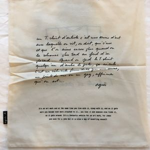 "Agnes B. Tops - RARE Agnes B. David Lynch ""Wild At Heart"" T-shirt"